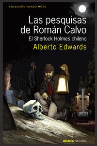 LAS PESQUISAS DE ROMÁN CALVO: portada