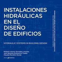 INSTALACIONES HIDRÁULICAS EN EL DISEÑO DE EDIFICIOS: portada