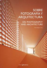 SOBRE FOTOGRAFÍA Y ARQUITECTURA: portada