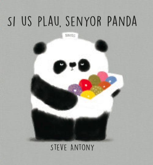 Si us plau, senyor Panda: portada
