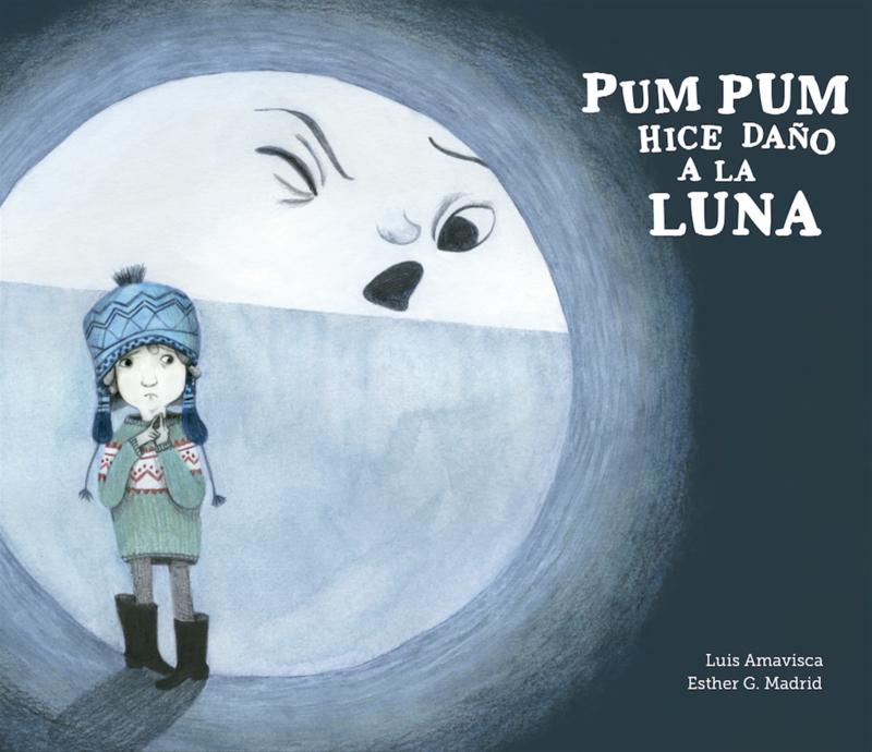 Pum Pum hice daño a la luna: portada