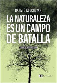 La naturaleza es un campo de batalla: portada