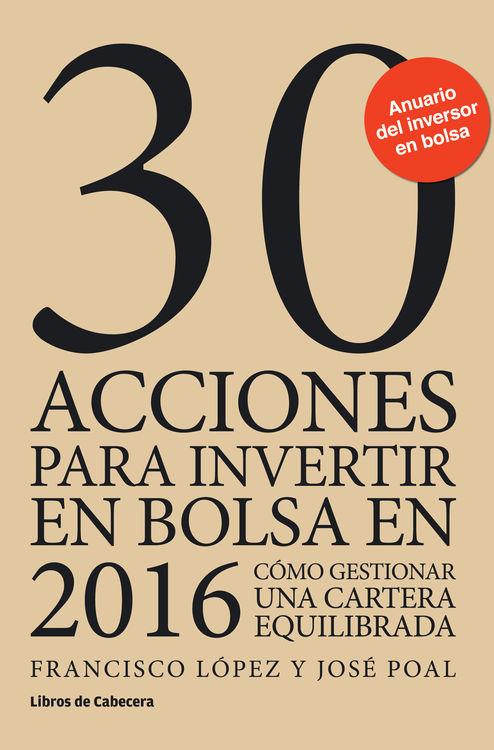 30 acciones para invertir en bolsa en 2016: portada