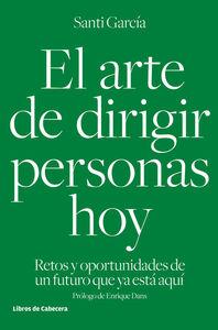 EL ARTE DE DIRIGIR PERSONAS HOY: portada