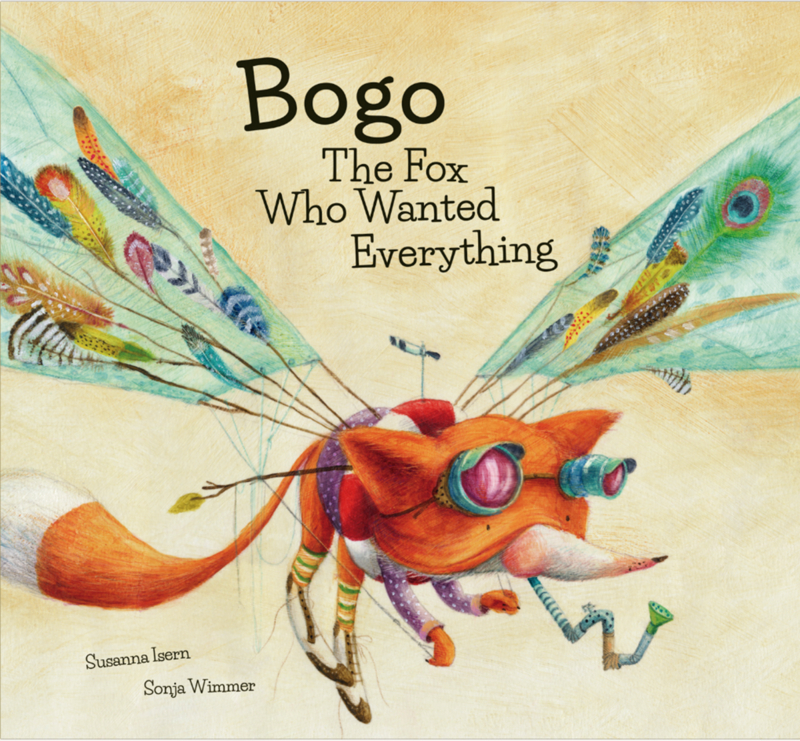 Bogo The Fox Who Wanted Everything: portada