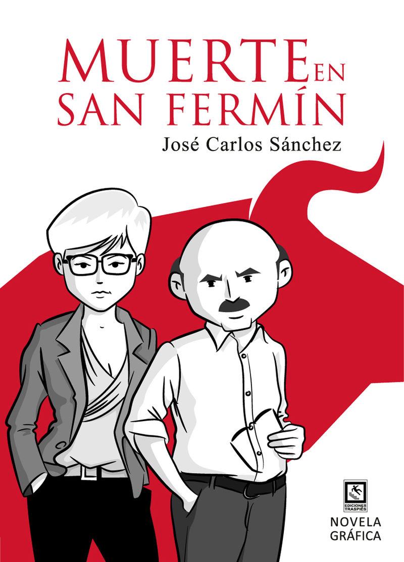 Muerte en San Fermín: portada