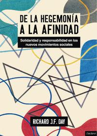 DE LA HEGEMONIA A LA AFINIDAD: portada