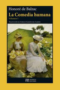 La Comedia humana. Volumen I  (NE): portada