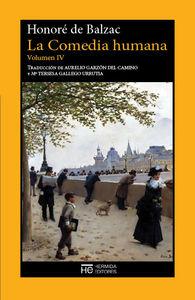 La Comedia humana. Vol. IV. Escenas de la vida privada: portada