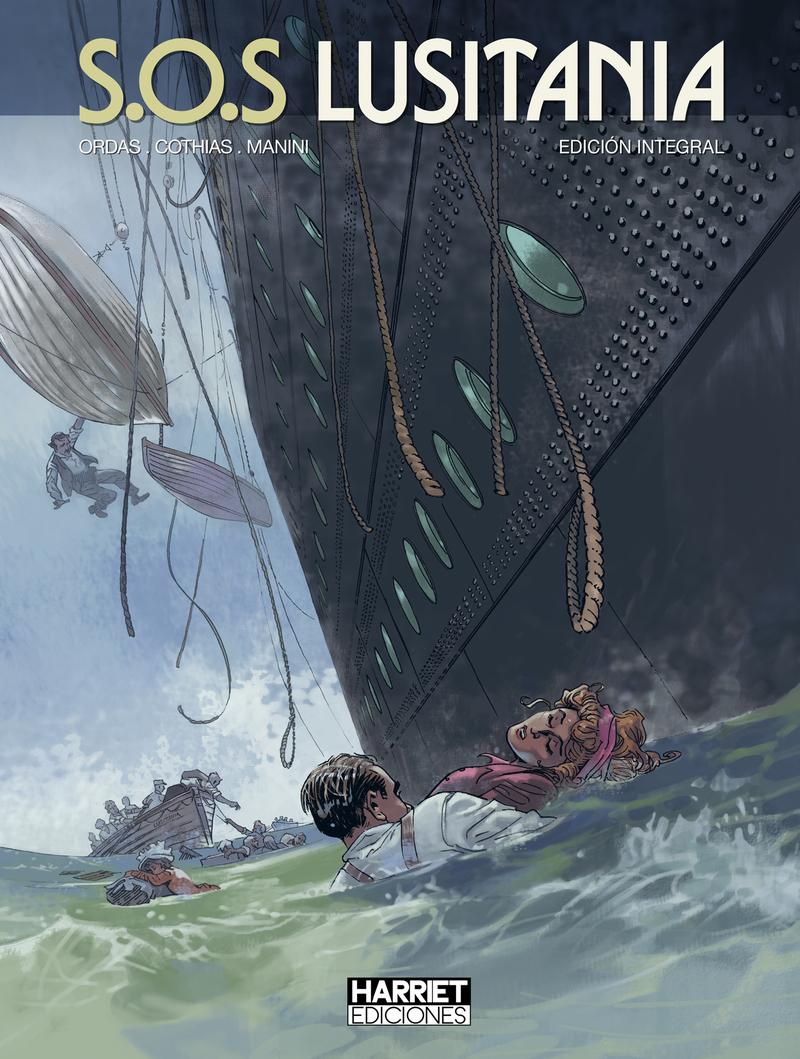 S.O.S Lusitania: portada
