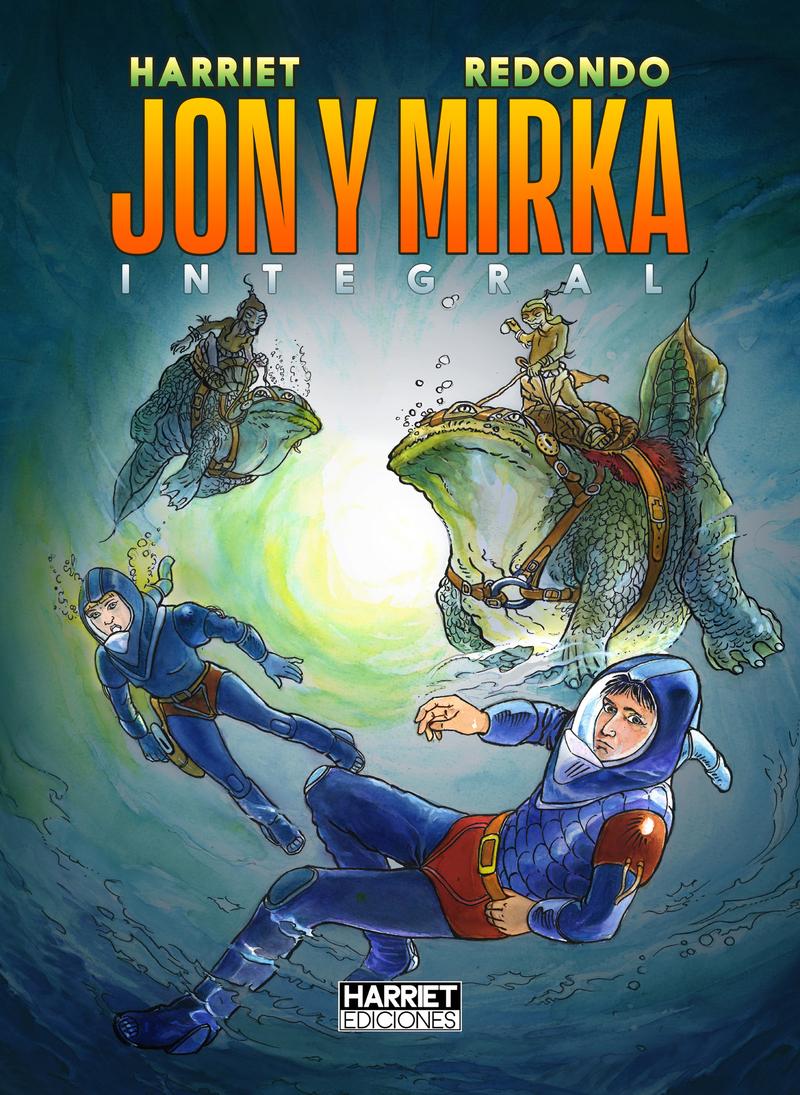 Jon y Mirka: portada