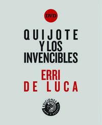 QUIJOTE Y LOS INVENCIBLES: portada