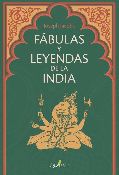 FÁBULAS Y LEYENDAS DE LA INDIA: portada