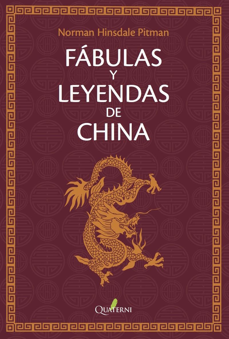 FÁBULAS Y LEYENDAS DE CHINA: portada