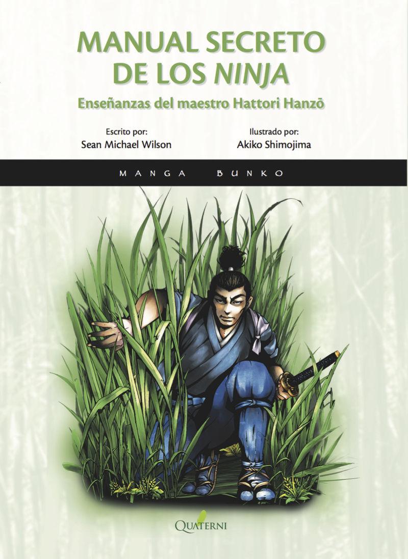 MANUAL SECRETO DE LOS NINJA - MANGA: portada
