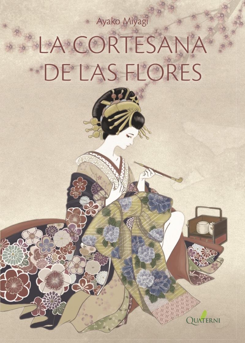 LA CORTESANA DE LAS FLORES: portada