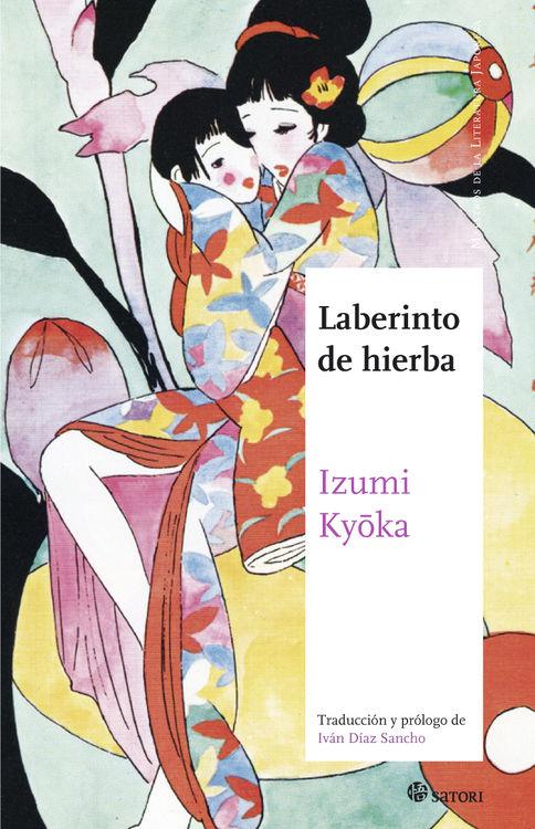 LABERINTO DE HIERBA: portada
