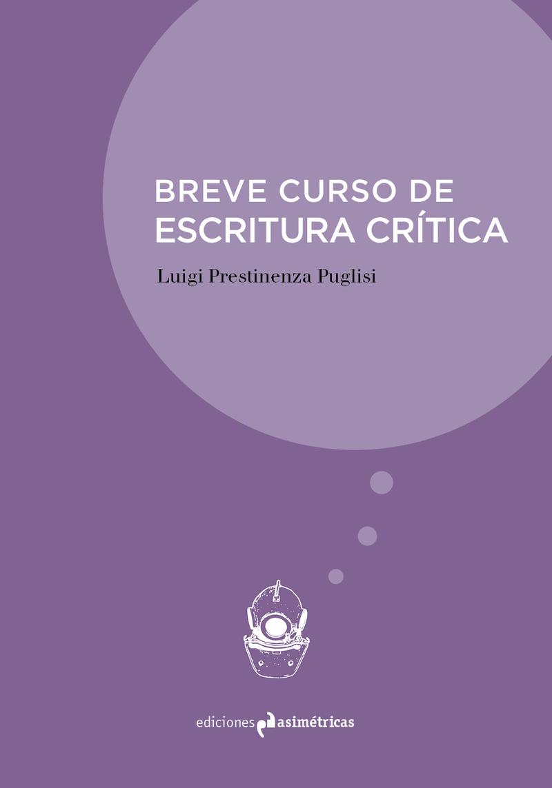 BREVE CURSO DE ESCRITURA CRÍTICA: portada