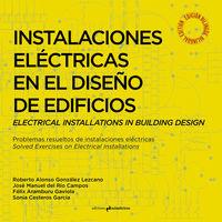 INSTALACIONES ELÉCTRICAS EN EL DISEÑO DE EDIFICIOS: portada