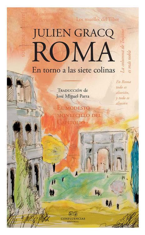 ROMA EN TORNO A LAS SIETE COLINAS: portada