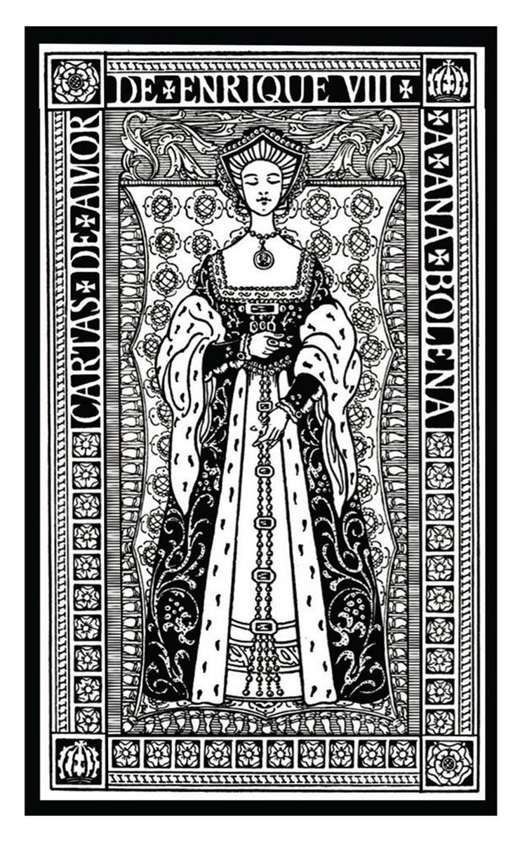 Cartas de amor de Enrique VIII a Ana Bolena: portada