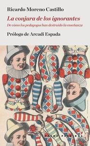 LA CONJURA DE LOS IGNORANTES: portada