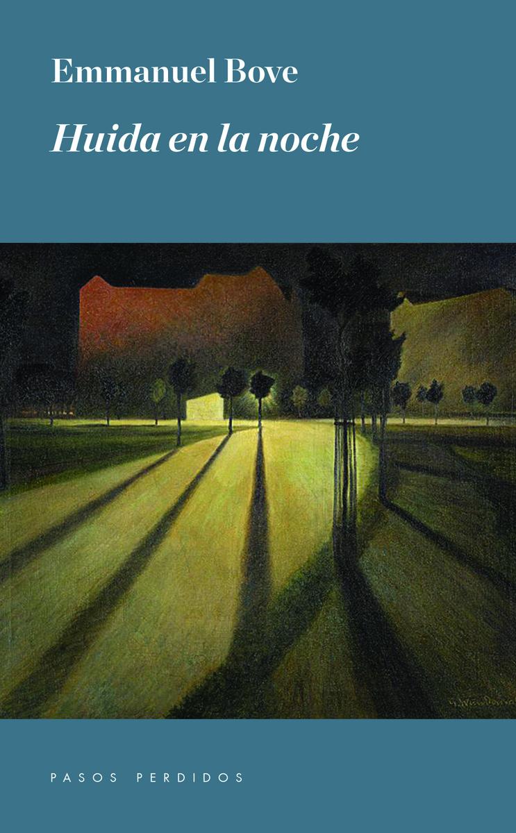 Huida en la noche: portada