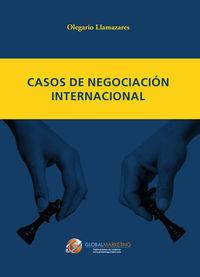 Casos de negociación internacional: portada