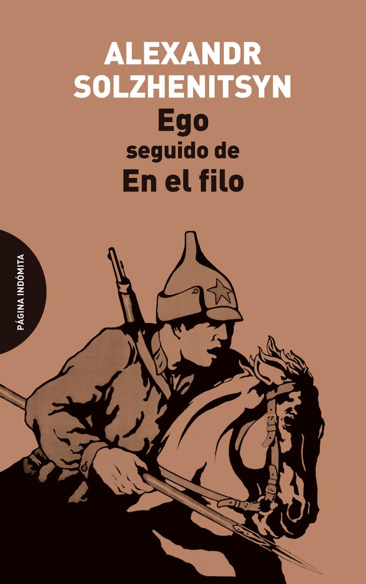 Ego, seguido de En el filo: portada