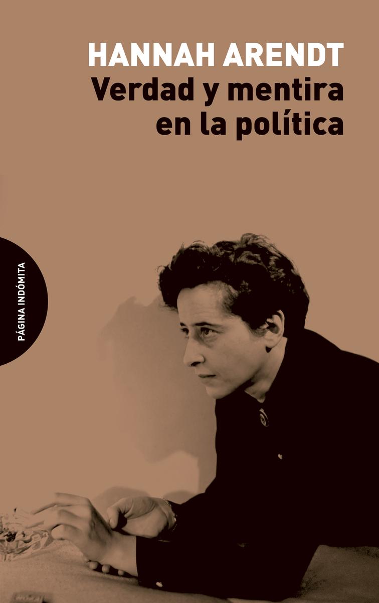 Verdad y mentira en la política: portada