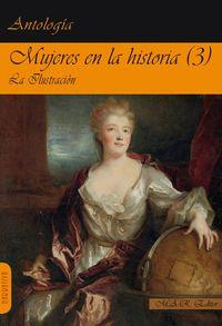 Mujeres en la historia (3) Ilustración.: portada