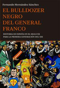 El bulldozer negro del general Franco: portada