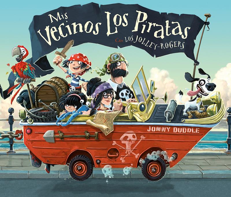 Mis vecinos los piratas: portada