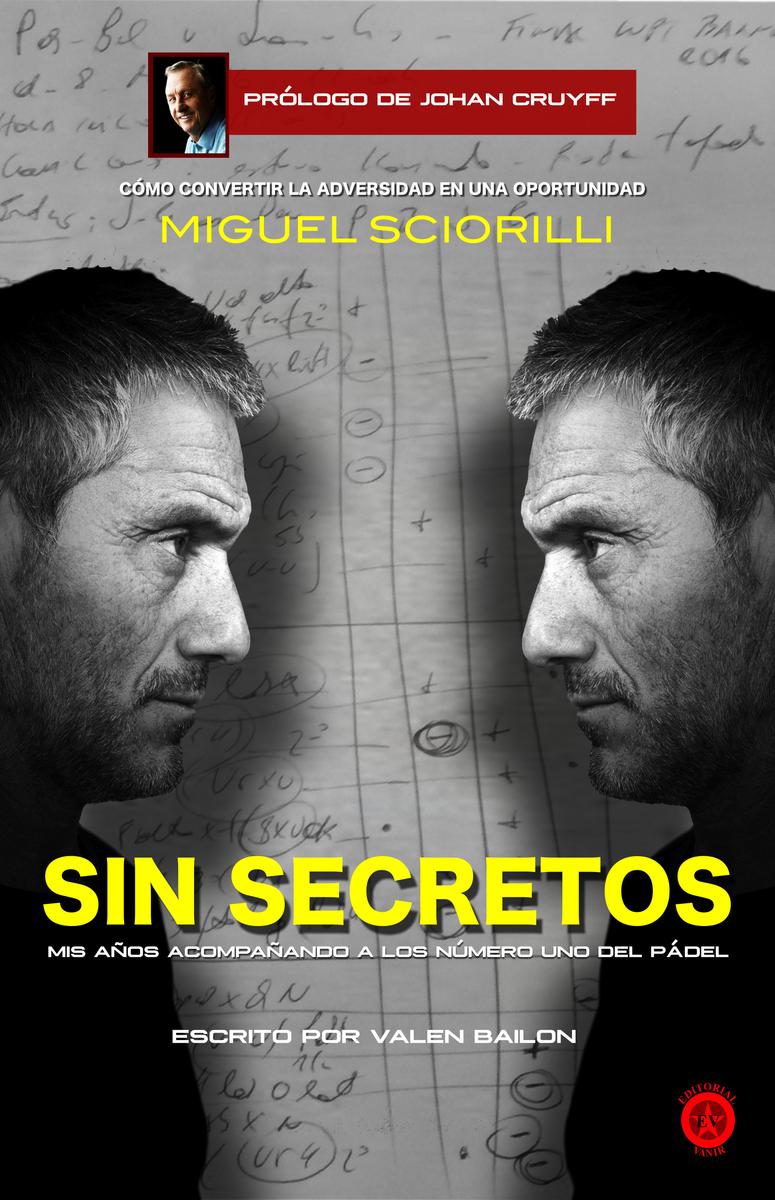 MIGUEL SCIORILLI, SIN SECRETOS: portada