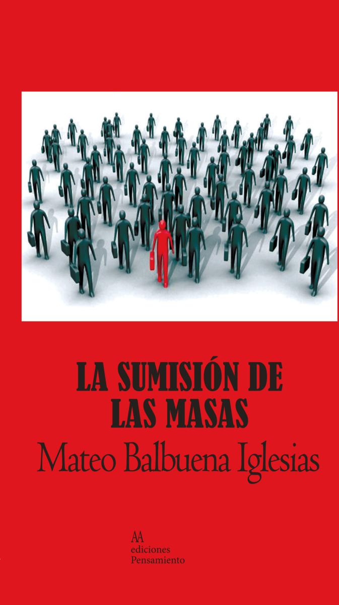 La sumisión de las masas: portada