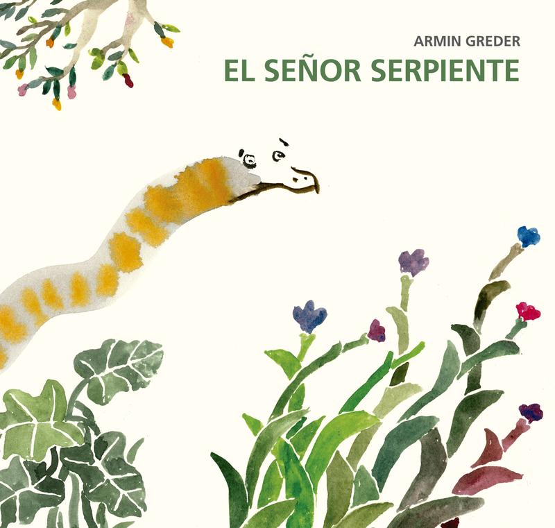 El señor serpiente: portada