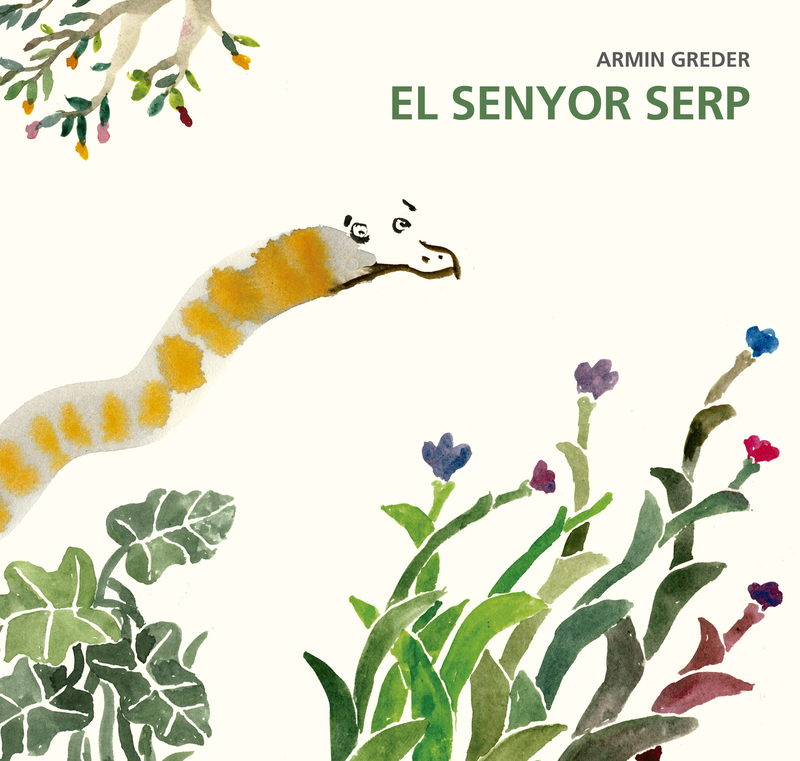 El senyor serp: portada