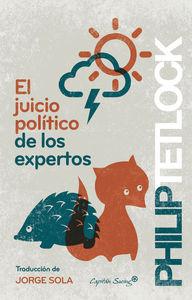 El juicio político de los expertos: portada
