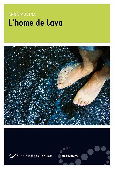 L'home de lava: portada