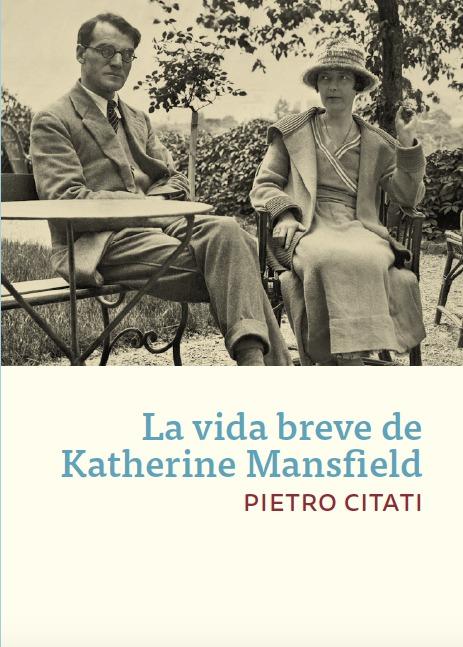 La vida breve de Katherine Mansfield: portada