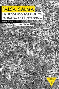 FALSA CALMA: portada