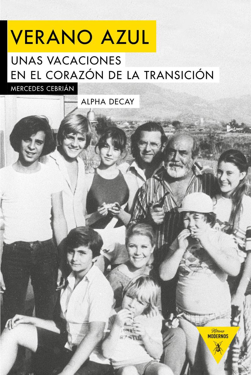 VERANO AZUL: portada