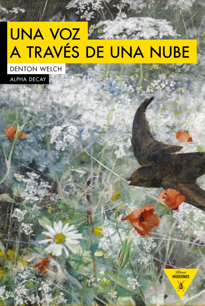UNA VOZ A TRAVES DE UNA NUBE: portada