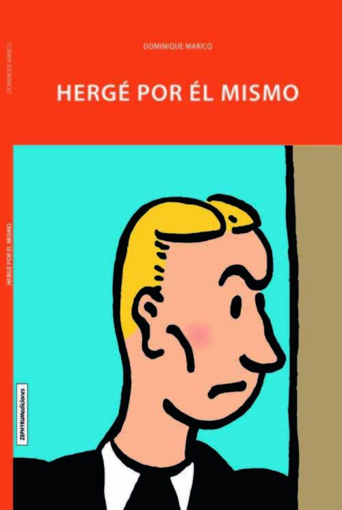 Hergé por él mismo: portada