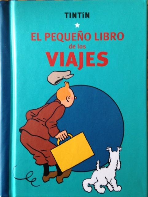 TINTÍN. EL PEQUEÑO LIBRO DE LOS VIAJES: portada