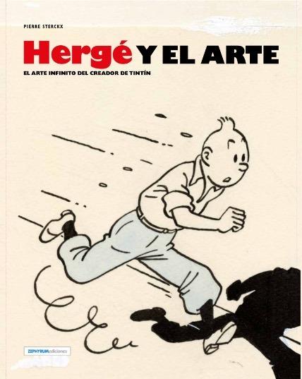 HERGÉ Y EL ARTE: portada