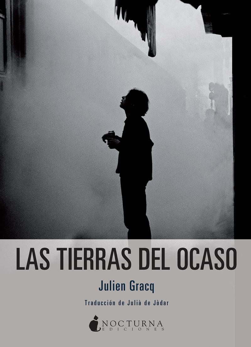 LAS TIERRAS DEL OCASO: portada
