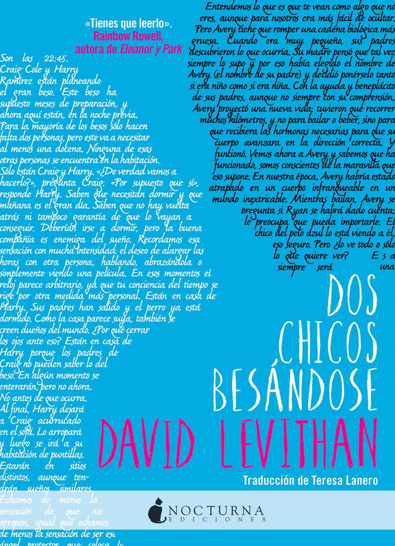 DOS CHICOS BESÁNDOSE: portada