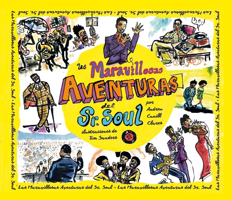 Las Maravillosas aventuras del Sr. Soul: portada
