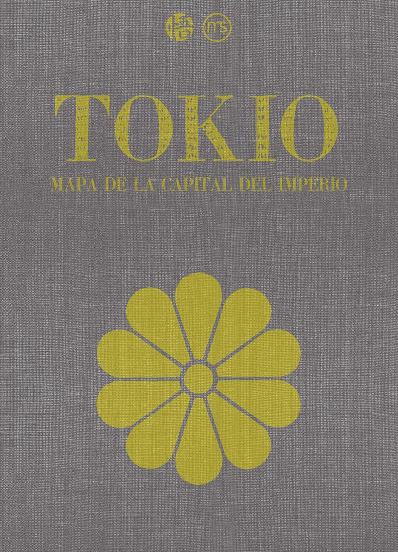 Tokio. Mapa de la capital del imperio: portada